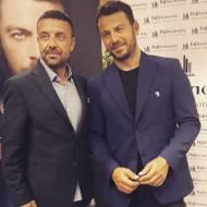 """Ο Γιώργος στην παρουσίαση του βιβλίου του """"Ντάνος: Μια αφήγηση στην Αυγή Σαββίδου"""" που έγινε στην Καλαμάτα - 10 Μαΐου 2019 Φωτογραφία: akis.passaris Instagram"""
