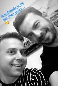 """Ο Γιώργος στην παρουσίαση του βιβλίου του """"Ντάνος: Μια αφήγηση στην Αυγή Σαββίδου"""" που έγινε στην Καλαμάτα - 10 Μαΐου 2019 Φωτογραφία: anastasios_ntougkas Instagram"""