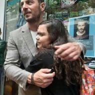 """Ο Γιώργος στην παρουσίαση του βιβλίου του """"Ντάνος: Μια αφήγηση στην Αυγή Σαββίδου"""" στην Κατερίνη - 4 Μαΐου 2019 Φωτογραφία: Βάγια via danoxwrio Instagram"""