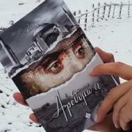 """Το εξώφυλλο του βιβλίου """"Αροθυμώ σε"""" στο οποίο βασίζεται το σενάριο του video clip του τραγουδιού του Κώστα Αγέρη """"Για σένα πατρίδα μου"""", στο οποίο συμμετείχε ο Γιώργος Φωτογραφία: Erotokritos Savvidis Facebook"""