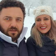 """Ο Ερωτόκριτος Σαββίδης κατά τη διάρκεια των γυρισμάτων του video clip του τραγουδιού του Κώστα Αγέρη """"Για σένα πατρίδα μου"""" για τον Πόντο Φωτογραφία: Erotokritos Savvidis Facebook"""