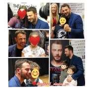 """Ο Γιώργος στην παρουσίαση του βιβλίου του """"Ντάνος: Μια αφήγηση στην Αυγή Σαββίδου"""" που έγινε στην Καλαμάτα - 10 Μαΐου 2019 Φωτογραφία: rimeri._ Instagram"""