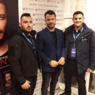 """Ο Γιώργος στην παρουσίαση του βιβλίου του """"Ντάνος: Μια αφήγηση στην Αυγή Σαββίδου"""" που έγινε στην Καλαμάτα - 10 Μαΐου 2019 Φωτογραφία: target_security Instagram"""