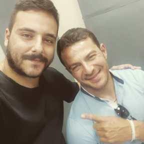 Ο Γιώργος κατά τη διάρκεια της συνέντευξής του στο Smart Radio στις 21 Ιουνίου 2019 Φωτογραφία: alexander Instagram