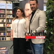 Ο Γιώργος με τη συγγραφέα του βιβλίου του Αυγή Σαββίδου κατά τη διάρκεια της παρουσίασης του βιβλίου του στο κατάστημα Public του Nicosia Mall στην Κύπρο - 31 Μαΐου 2019 Φωτογραφία: Celebrity reporter