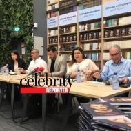 Ο Γιώργος κατά τη διάρκεια της παρουσίασης του βιβλίου του στο κατάστημα Public του Nicosia Mall στην Κύπρο - 31 Μαΐου 2019 Φωτογραφία: Celebrity reporter