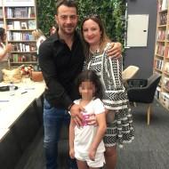 Ο Γιώργος Αγγελόπουλος και η Μαριλένα Ιεροδιακόνου στην παρουσίαση στην Κύπρο - 31 Μαΐου 2019