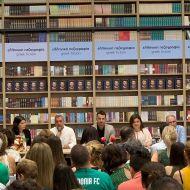 Ο Γιώργος κατά τη διάρκεια της παρουσίασης του βιβλίου του στο κατάστημα Public του Nicosia Mall στην Κύπρο - 31 Μαΐου 2019 Φωτογραφία: ioannoukg Instagram