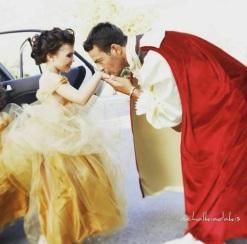 Ο ιππότης Γιώργος και η πριγκίπισσά του...