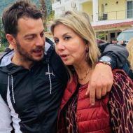 Ο Γιώργος με τη βουλευτή του Ν. Μαγνησίας, Ζέτα Μακρή, στη Σκιάθο για τη γιορτή της Παναγίας της Εικονίστριας - 21 Νοεμβρίου 2019 Φωτογραφία: Ράνια Πάνου FB (Ό,τι συμβαίνει στη Σκιάθο)