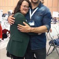 Ο Γιώργος μαζί με φαν στο Job Festival Θεσσαλονίκης 2019 - 8 Νοεμβρίου 2019 Φωτογραφία: katerina_remen IG
