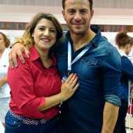 Ο Γιώργος μαζί με φαν στο Job Festival Θεσσαλονίκης 2019 - 8 Νοεμβρίου 2019 Φωτογραφία: vassoskg IG