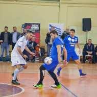 Ο Γιώργος στον φιλανθρωπικό αγώνα ποδοσφαίρου που διεξήχθη στο ΔΑΚ Γλυφάδας στις 15 Δεκεμβρίου 2019 Φωτογραφία: Δορκοφίκης Περικλής Facebook