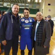 Ο Γιώργος στον φιλανθρωπικό αγώνα ποδοσφαίρου που διεξήχθη στο ΔΑΚ Γλυφάδας στις 15 Δεκεμβρίου 2019 Φωτογραφία: Χρήστος Πάζης - Christos Pazis Facebook