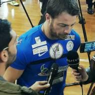 Ο Γιώργος στον φιλανθρωπικό αγώνα ποδοσφαίρου που διεξήχθη στο ΔΑΚ Γλυφάδας στις 15 Δεκεμβρίου 2019 Φωτογραφία: giorgos_aggelopoulos_friends Instagram