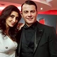 Ο Γιώργος και η Αναστασία Σιταρίδου στην avant premiere της ταινίας Χαλβάη 5-0 στην Αθήνα - 27 Ιανουαρίου 2020 Φωτογραφία: anastasia.sitaridou Instagram