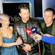 Ο Γιώργος εν ώρα δηλώσεων στο πάρτι έκπληξη για τα γενέθλιά του - 8 Ιανουαρίου 2020 Φωτογραφία: anastasios_ntougkas Instagram