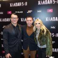 Ο Γιώργος με τον Τάσο Νούγκα και την Έλενα Τσαβαλιά στην avant premiere της ταινίας Χαλβάη 5-0 στη Θεσσαλονίκη - 28 Ιανουαρίου 2020 Φωτογραφία: anastasios_ntougkas Instagram