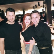 Ο Γιώργος μαζί με Αναστάσιο Ντούγκα και Μαρία Γεωργάκαινα στο πάρτι έκπληξη για τα γενέθλιά του - 8 Ιανουαρίου 2020 Φωτογραφία: anastasios_ntougkas Instagram