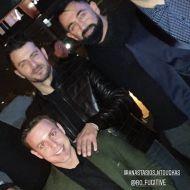 Ο Γιώργος μαζί με Αναστάσιο Ντούγκα και Μπο στο πάρτι έκπληξη για τα γενέθλιά του - 8 Ιανουαρίου 2020 Φωτογραφία: anastasios_ntougkas Instagram