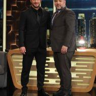 Ο Γιώργος μαζί με τον Γρηγόρη Αρναούτογλου στην εκπομπή The 2Night Show - 23 Ιανουαρίου 2020 Φωτογραφία: ant1news.gr