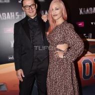 Ο Γιώργος και η Πηνελόπη Αναστασοπούλου στην avant premiere της ταινίας Χαλβάη 5-0 στην Αθήνα - 27 Ιανουαρίου 2020 Φωτογραφία: Πέτρος Χόντος - TLife