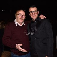 Ο Γιώργος και ο Ντίνος Καρύδης στην avant premiere της ταινίας Χαλβάη 5-0 στην Αθήνα - 27 Ιανουαρίου 2020 Φωτογραφία: Πέτρος Χόντος - TLife