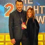 Ο Γιώργος μαζί με τη στυλίστριά του, Έλενα Γεραρχάκη, στην εκπομπή The 2Night Show - 23 Ιανουαρίου 2020 Φωτογραφία: elena_gerarhaki Instagram