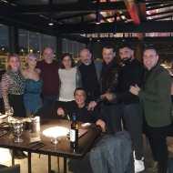 Ο Γιώργος μαζί με φίλους στο πάρτι έκπληξη για τα γενέθλιά του - 8 Ιανουαρίου 2020 Φωτογραφία: elenikonti Instagram