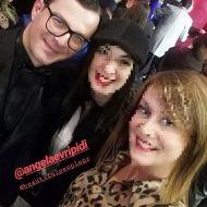 Ο Γιώργος στην avant premiere της ταινίας Χαλβάη 5-0 στην Αθήνα - 27 Ιανουαρίου 2020 Φωτογραφία: elina_kefi Instagram