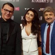 Ο Γιώργος, ο Μάρκος και η Αναστασία Σιταρίδου στην avant premiere της ταινίας Χαλβάη 5-0 στην Αθήνα - 27 Ιανουαρίου 2020 Φωτογραφία: erotokritossavvidis Instagram