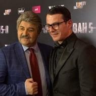 Ο Γιώργος και ο Μάρκος στην avant premiere της ταινίας Χαλβάη 5-0 στην Αθήνα - 27 Ιανουαρίου 2020 Φωτογραφία: frinilatou Instagram
