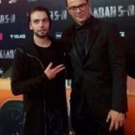 Ο Γιώργος στην avant premiere της ταινίας Χαλβάη 5-0 στην Αθήνα - 27 Ιανουαρίου 2020 Φωτογραφία: giannisdiakonikolas Instagram