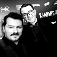 Ο Γιώργος και ο Ιωάννης Απέργης στην avant premiere της ταινίας Χαλβάη 5-0 στην Αθήνα - 27 Ιανουαρίου 2020 Φωτογραφία: ioannisapergis_ Instagram