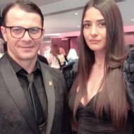 Ο Γιώργος στην avant premiere της ταινίας Χαλβάη 5-0 στη Θεσσαλονίκη - 28 Ιανουαρίου 2020 Φωτογραφία: iwanna_karagiannidoy Instagram