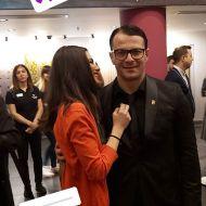 Ο Γιώργος στην avant premiere της ταινίας Χαλβάη 5-0 στη Θεσσαλονίκη - 28 Ιανουαρίου 2020 Φωτογραφία: kat_ntell Instagram