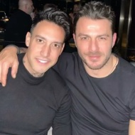 Ο Γιώργος μαζί με Γιώργο Καβακάκη στο πάρτι έκπληξη για τα γενέθλιά του - 8 Ιανουαρίου 2020 Φωτογραφία: kavakakis_giorgos.official Instagram