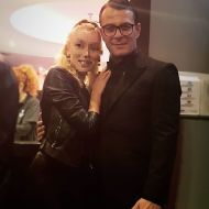 Ο Γιώργος στην avant premiere της ταινίας Χαλβάη 5-0 στην Αθήνα - 27 Ιανουαρίου 2020 Φωτογραφία: klelia3 Instagram
