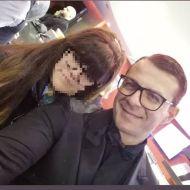 Ο Γιώργος στην avant premiere της ταινίας Χαλβάη 5-0 στην Αθήνα - 27 Ιανουαρίου 2020 Φωτογραφία: maria_boo19 Instagram