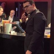 Ο Γιώργος στην avant premiere της ταινίας Χαλβάη 5-0 στην Αθήνα - 27 Ιανουαρίου 2020 Φωτογραφία: showtime_productions Instagram