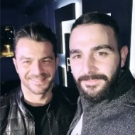 Ο Γιώργος μαζί με τον φίλο το Σήφη στο πάρτι έκπληξη για τα γενέθλιά του - 8 Ιανουαρίου 2020 Φωτογραφία: sifis_i_g Instagram
