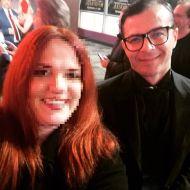 Ο Γιώργος στην avant premiere της ταινίας Χαλβάη 5-0 στην Αθήνα - 27 Ιανουαρίου 2020 Φωτογραφία: theano_theodwropoulou Instagram