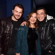 Ο Γιώργος μαζί με τον Αντύπα και τη σύζυγό του στο πάρτι έκπληξη για τα γενέθλιά του - 8 Ιανουαρίου 2020 Φωτογραφία: Πέτρος Χόντος - TLife