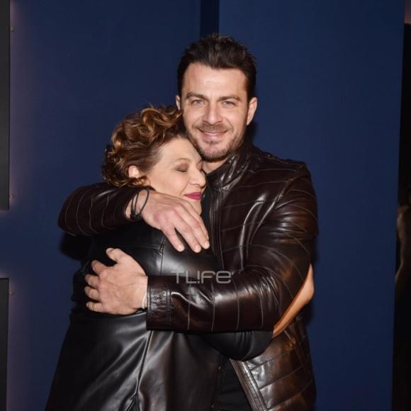 Ο Γιώργος μαζί με τη Γιώτα Νέγκα στο πάρτι έκπληξη για τα γενέθλιά του - 8 Ιανουαρίου 2020 Φωτογραφία: Πέτρος Χόντος - TLife