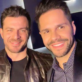 Ο Γιώργος μαζί με τον Γιώργο Τσαλίκη στο πάρτι έκπληξη για τα γενέθλιά του - 8 Ιανουαρίου 2020 Φωτογραφία: tsalikisgiorgos Instagram