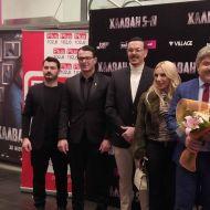 Ο Γιώργος στην avant premiere της ταινίας Χαλβάη 5-0 στη Θεσσαλονίκη - 28 Ιανουαρίου 2020 Φωτογραφία: vassoskg Instagram