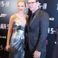 Ο Γιώργος με τη Βίκυ Κάβουρα στην avant premiere της ταινίας Χαλβάη 5-0 στη Θεσσαλονίκη - 28 Ιανουαρίου 2020 Φωτογραφία: vassoskg Instagram