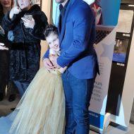 """Ο Γιώργος μαζί με τη μικρή πριγκίπισσα Έλενα στην εκδήλωση της """"Βραδιάς του Ευχαριστώ"""" του Make a Wish που πραγματοποιήθηκε στην Αθήνα στις 25 Φεβρουαρίου 2020 Φωτογραφία: mariolgagm Instagram"""