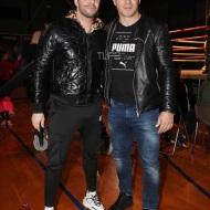 Ο Γιώργος μαζί με τον Γιώργο Τσαλίκη στο Komodo 2 - 15 Φεβρουαρίου 2020 Φωτογραφία: NDP via TLife