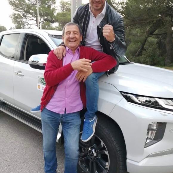 Γιώργος Αγγελόπουλος και Κώστας Στεφανής στην εκπομπή Traction - Φωτογραφία: star.gr